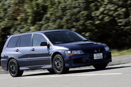 三菱ランサーエボリューションワゴンGT-A(4WD/5AT)【試乗記】