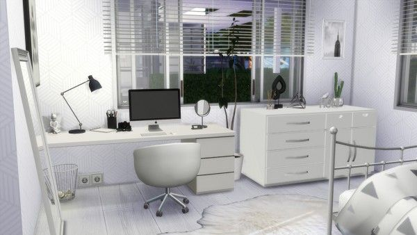 Models Sims 4 White Bedroom Em 2020 Sims 4 Sims The Sims