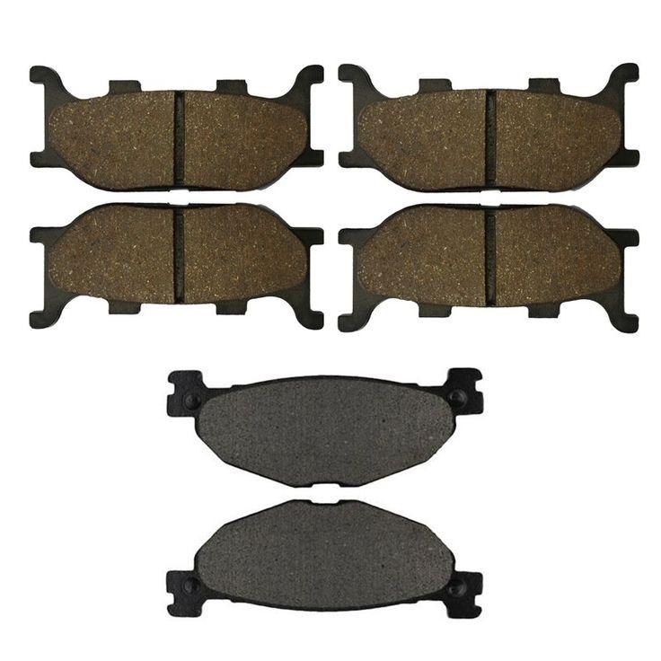 22.05$  Buy here - http://aliwbj.shopchina.info/go.php?t=32716408482 - Motorcycle Front and Rear Brake Pads for YAMAHA XVS 1300 CTW / CTX V-Star 1300 Tourer Black Brake Disc Pad  #bestbuy