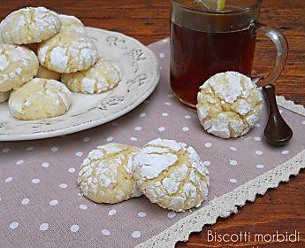 Biscotti morbidi al limone, squisiti, semplici, irresistibili