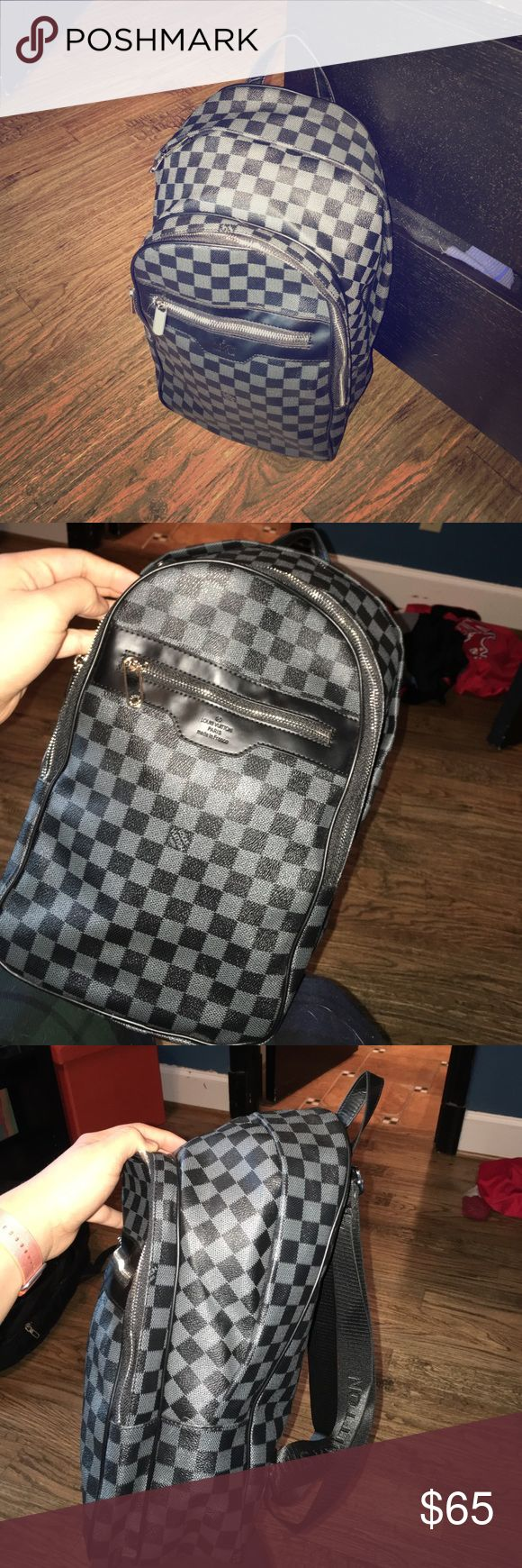 Louis vuitton michael backpack bb damier graphite this bag is a very good petite backpack style