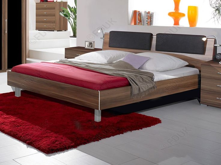 Como bedroom range you can create a really classy looking bedroom Como range in distinctively grained American walnut finish.It is a bed features a thick top 87cm head board and a 40cm low foot end.For more details visit us at furnituredirectuk.net