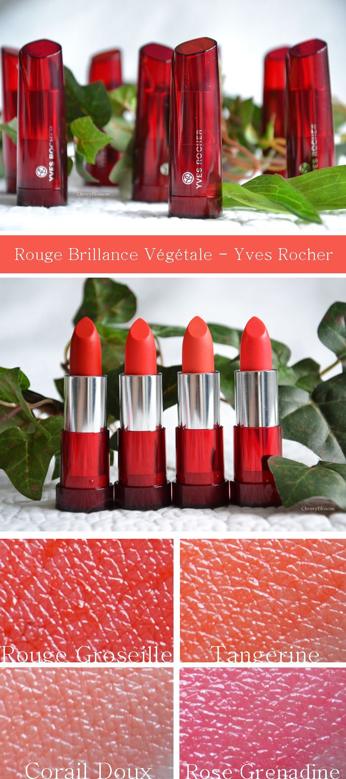 Rouge Brillance Végétale - Yves Rocher | CherryBlogssom