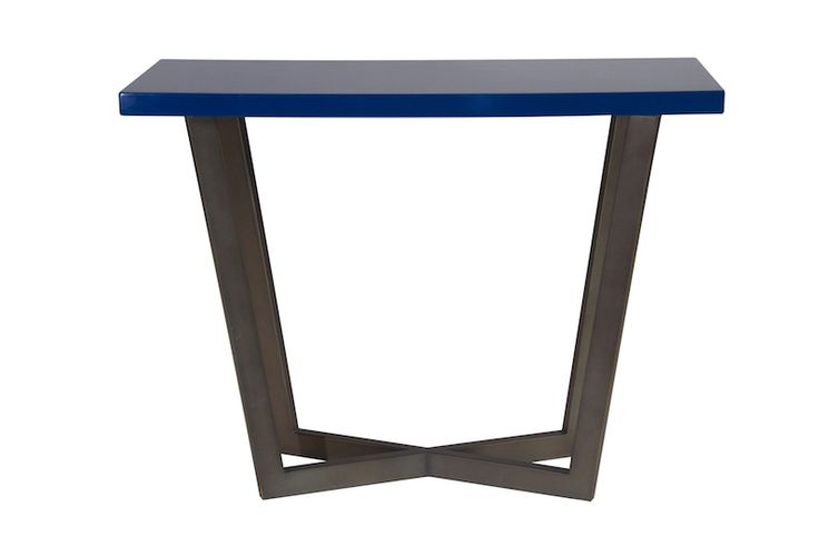 KINTAMANI DESK  Powder coated steel with lacquer top Size 800 x 400 x 760 mm