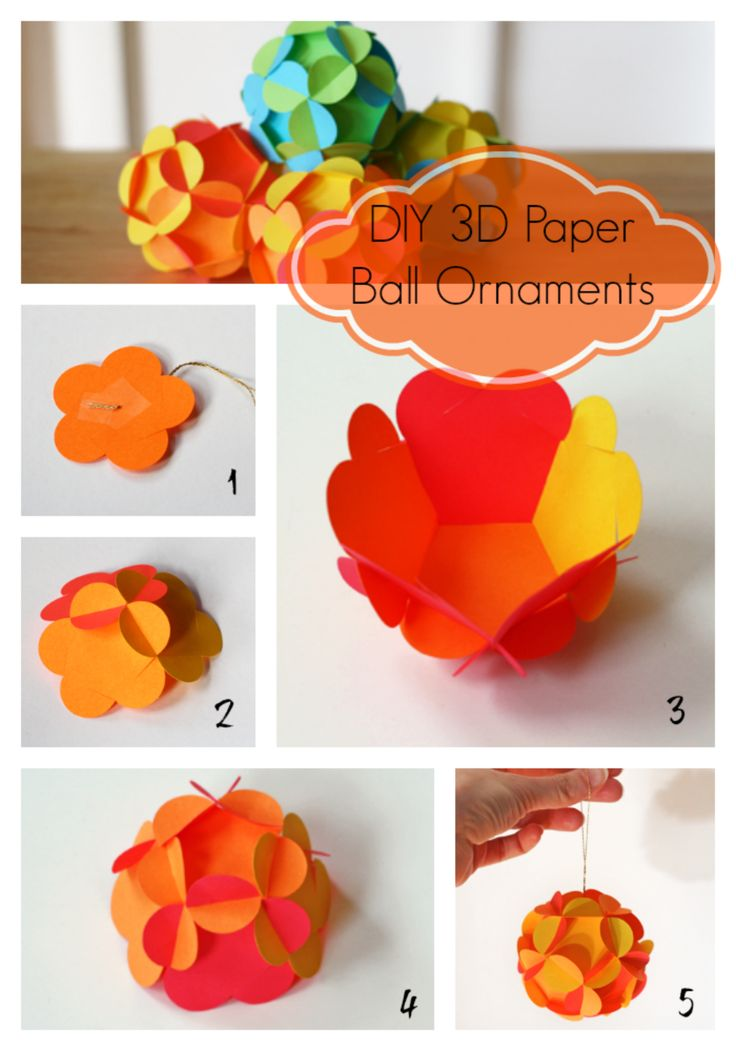 DIY 3D Paper Ball Decorations..You can also use this with an old map and make it even cooler. Check the website for the printable (it's free)