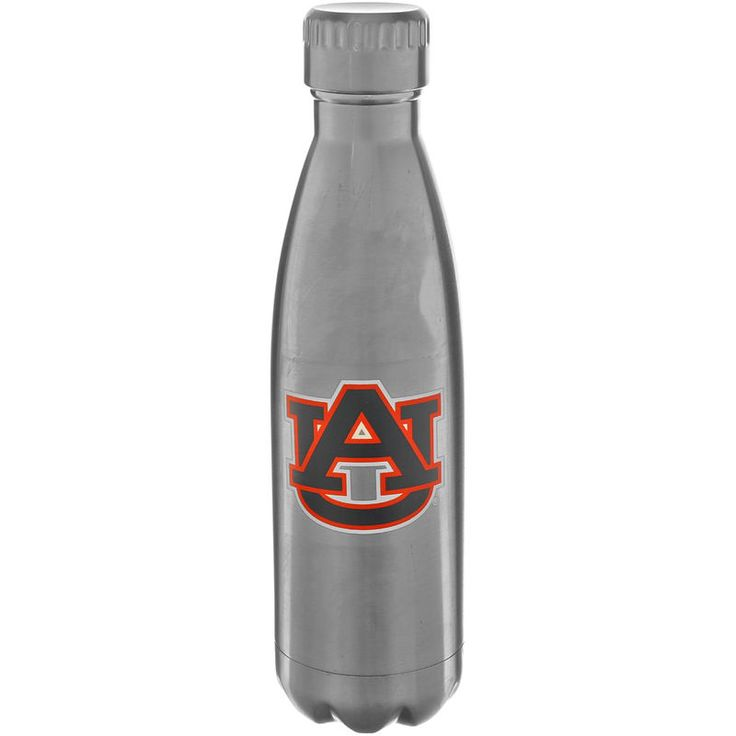 Auburn Tigers 16oz. Stainless Steel Water Bottle