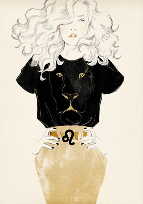 Sandra Suy Fashion Illustrations: Line Art & Detailed Textures=Gorgeous!