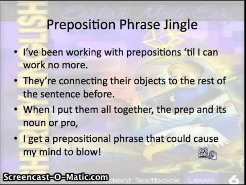 20 best teachingshurley grammar images on pinterest shurley article adjective preposition object of preposition prepositional phrase preposition flow fandeluxe Gallery