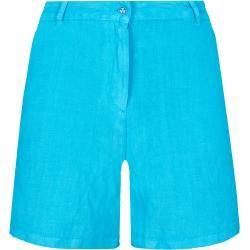 Feb 4, 2020 - Damen Ready to Wear - Solid Bermudashorts aus Leinen für Damen - Bermuda - Leslie - Blau - Xs - Vile