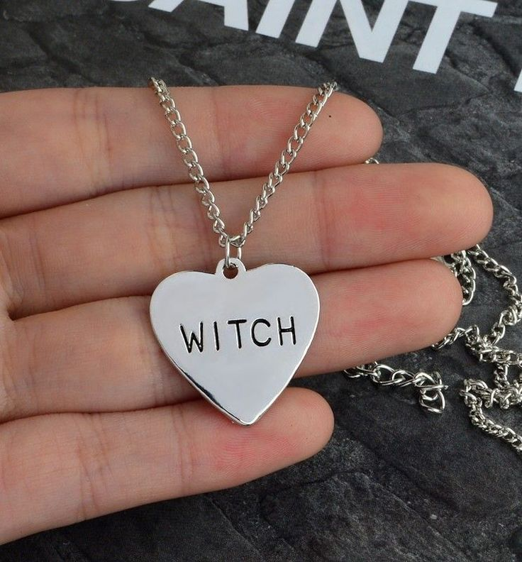 Witch Heart Necklace