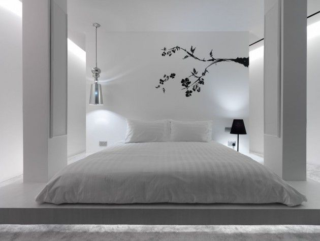 17 Spectacular Black and White Minimalist Bedrooms for More Sophisticated Home - ArchitectureArtDesigns.com