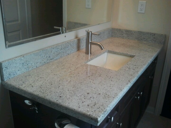 Granite For Bathroom Vanity 18 best granite countertops images on pinterest | dream kitchens