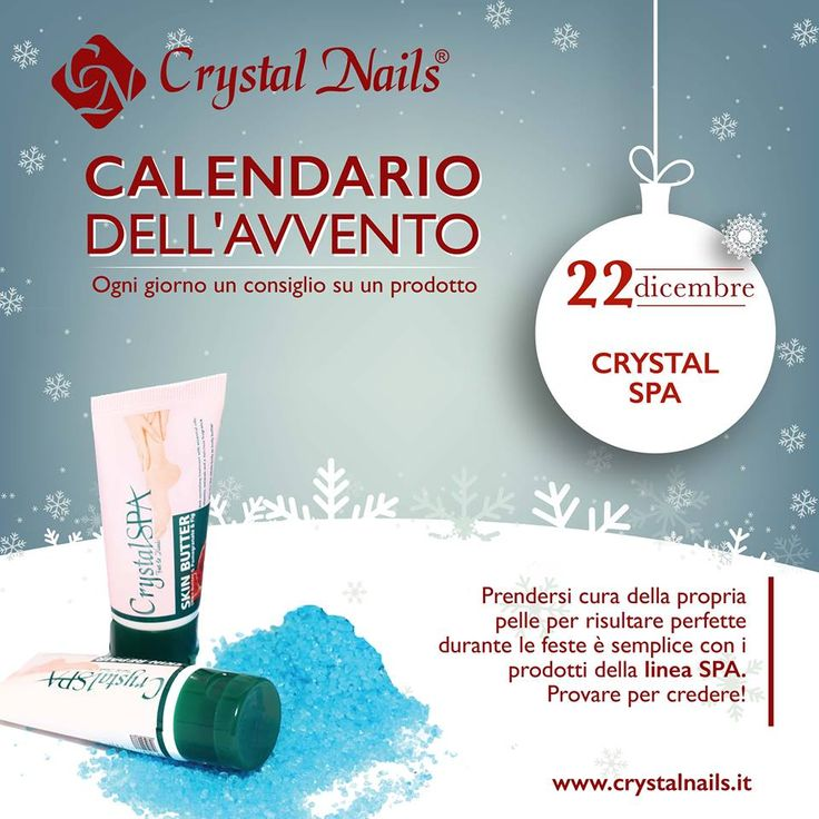 Calendario dell'avvento Crystal Nails - 22 dicembre #crystalnails #crystalspa
