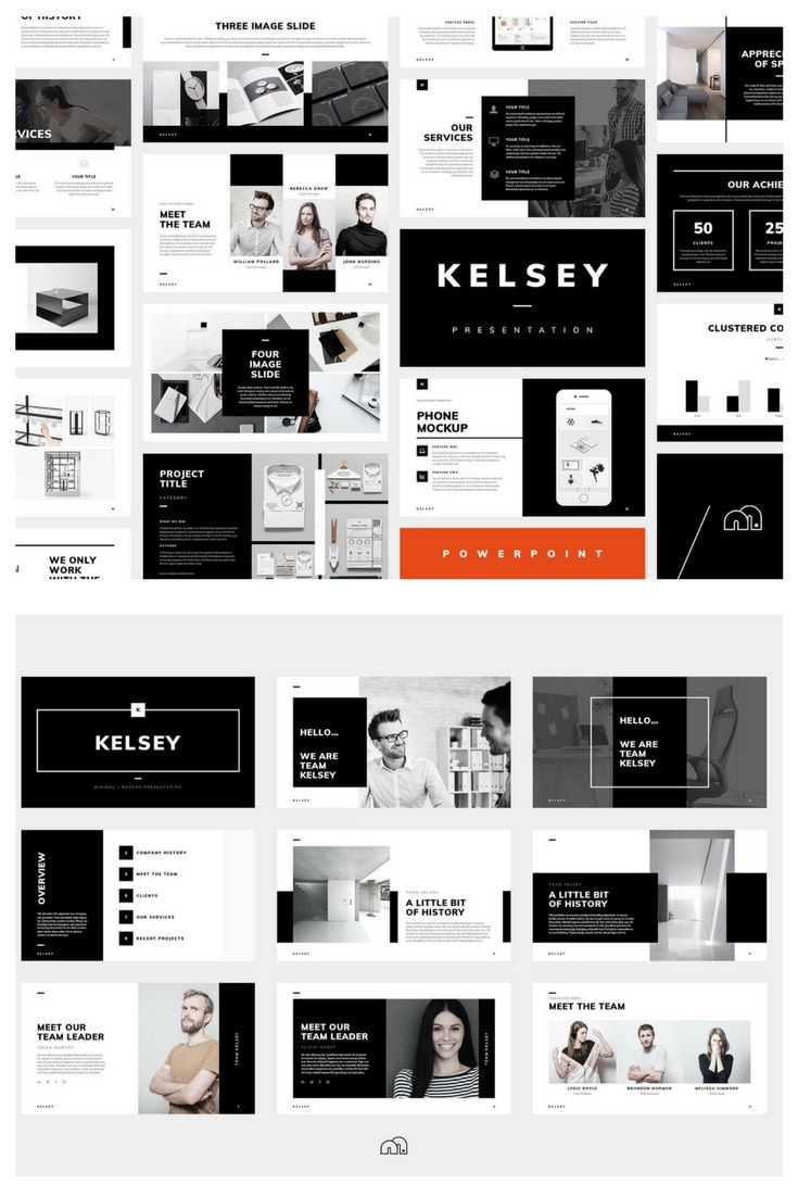 How To Create a Professional PowerPoint Design. Professional, Minimalist PowerPoint Design #powerpoint #template #presentation
