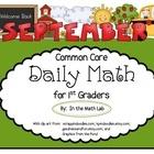 Get your 1st graders engaged and focused with this Daily Math packet aligned with Common Core Standards. This easy-to-use resource, with 100 differ...