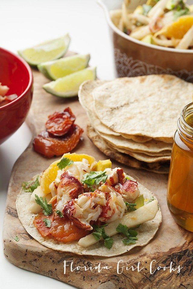 Lobster Tacos, Dos Caminos style