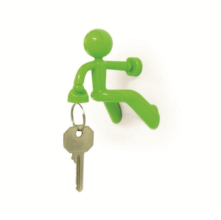 Schl�sselhalter Wandhaken Key PE676 Gr�n Pete Bussiness als Bergsteiger oder Wand Freyclimper: Amazon.de: Küche & Haushalt