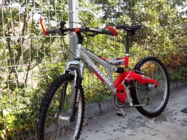. Vendo bicicleta de montaña doble suspensión. Muy buen estado .o cambio por bmx de saltos