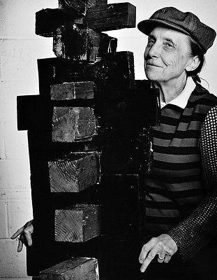 Louise Bourgeois, Vintage 1982 Gelatin Silver Photograph, Jack Mitchell