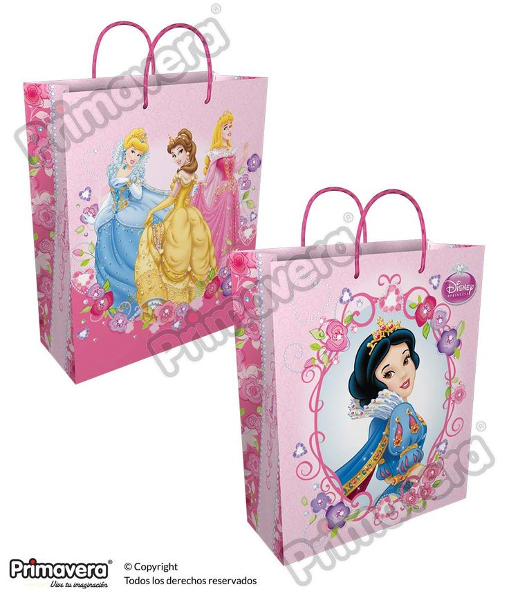 Bolsa Regalo Premium Princesas http://envoltura.papelesprimavera.com/product/bolsa-regalo-personajes-nina-premium-princesas/