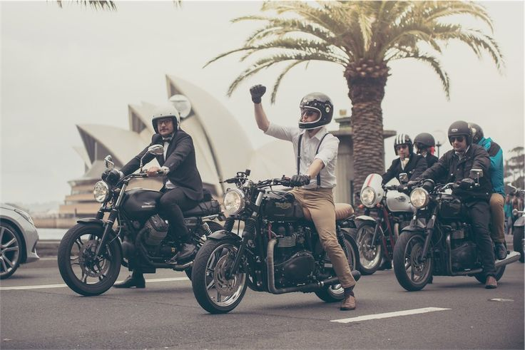 The 2016 Distinguished Gentlemans Ride : Birthplace of DGR - Sydney, Australia