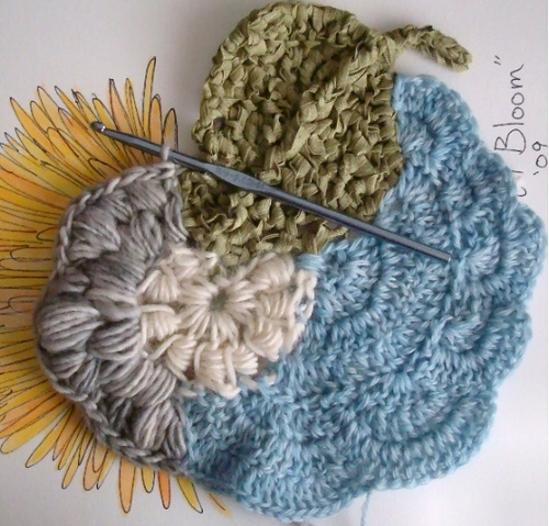 some free form crochet. This is BEAUTIFUL  I need to try free form crochet ~ ! ~