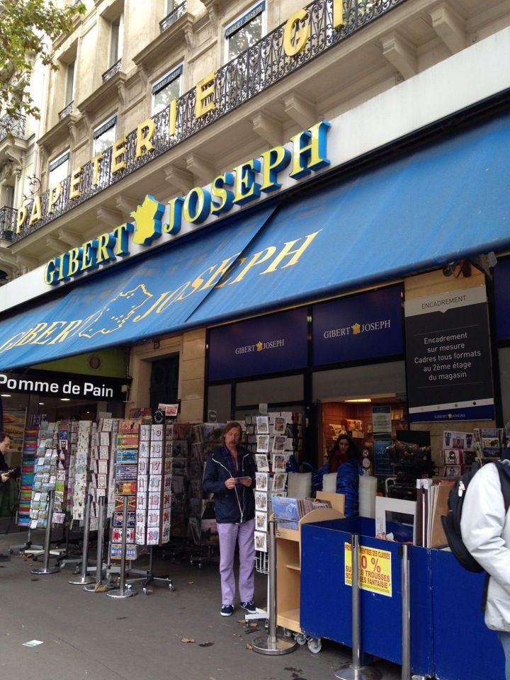 Gibert Joseph | Paris | la più grande libreria di Parigi