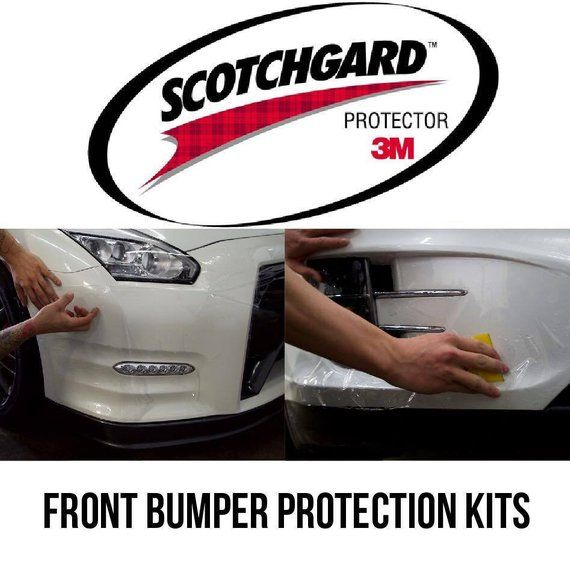 3M Scotchgard Paint Protection Film Pro Series Clear Front