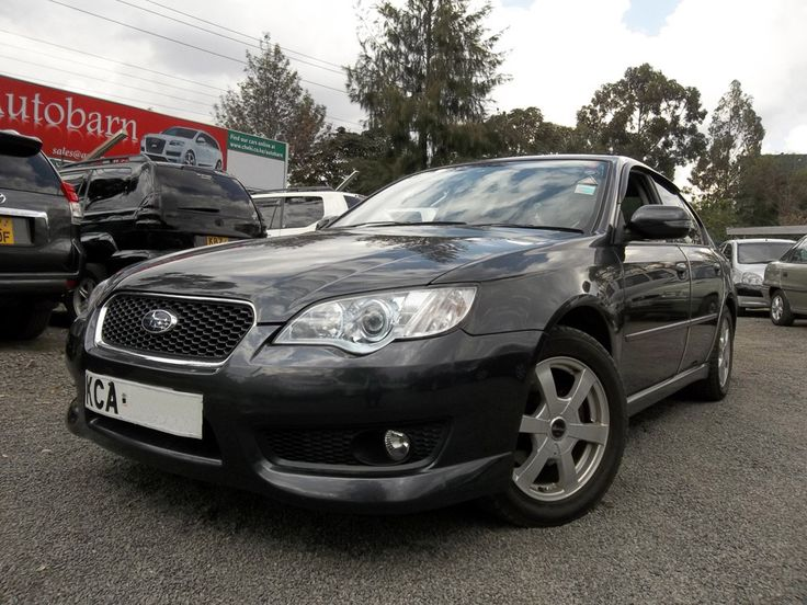 The best prices on new and used cars in Kenya 2007 Subaru Legacy Cc2000 Ksh 1,299,000/- www.facebook.com/carsnairobi / info@nairobicars.com  Alloys, good tyres, Twin exhaust, steering buttons, puddle shift, sports pedals, sony cd/mp3 player, Xenon lights, Foglights - 93,000km