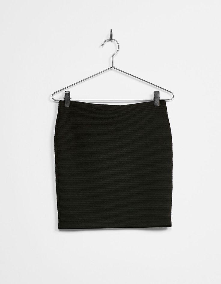 Mini-jupe ajustée - Jupes - Bershka France