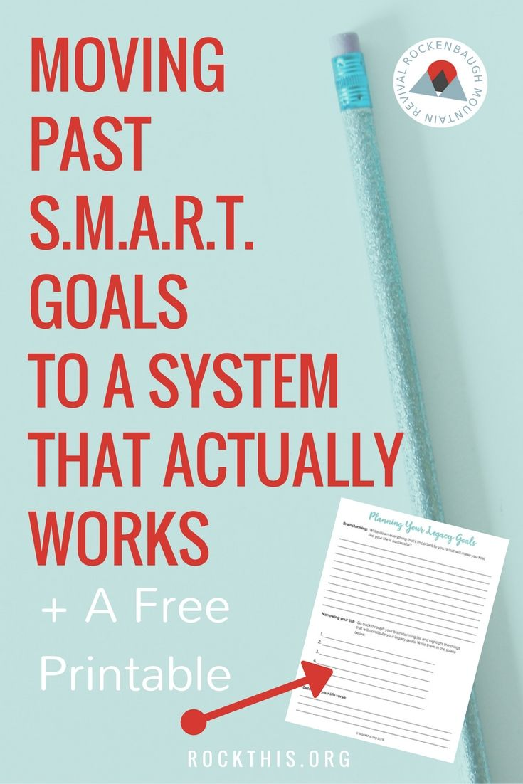 Ready to move past smart goals? There are so many different goal setting tips, but it's hard to find one that actually works. This is a great new way to set goals that increase productivity as well gives meaning to your everyday tasks. Bonus: it even has a planning worksheet printable!