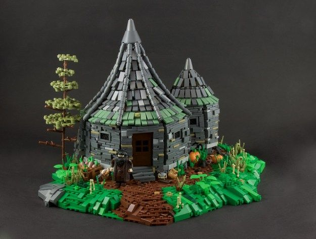 Anyone Up For Butterbeer Lego Hogwarts Lego Display