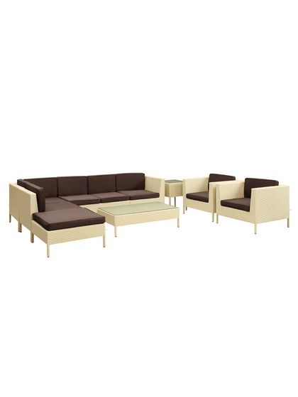 Borba Outdoor Sectional Set 9 Pc By Pearl River Modern