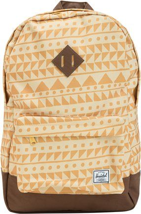 Herschel Heritage Backpack in gold http://www.swell.com/Womens-Backpacks-Travel/HERSCHEL-HERITAGE-BACKPACK?cs=BL @SWELL @Jan Neary Supply Co.
