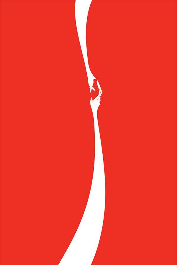 コカコーラ 印刷広告