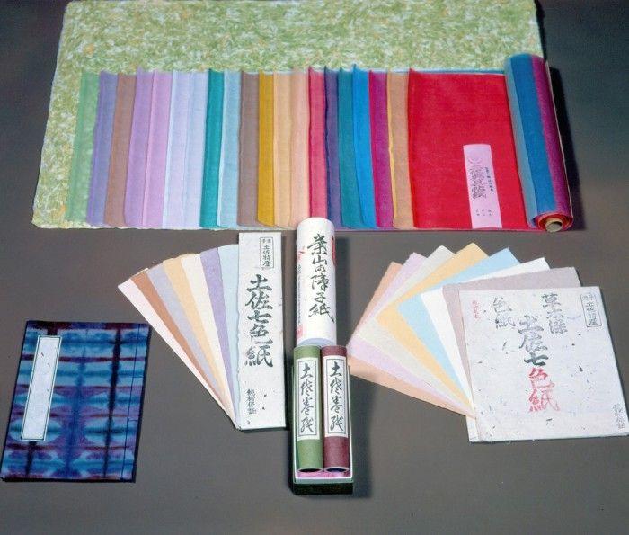 土佐和紙 | 伝統的工芸品 | 伝統工芸 青山スクエア