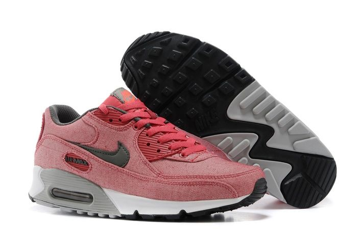 Descentos Nike Air Max 90 sneakers PEACH N Red Black Online and Nike Air Max Women for All Ages