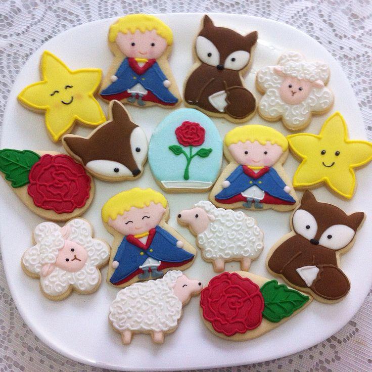 O Pequeno Príncipe Vanilla Art Cookies