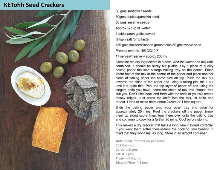 KETohh Seed Crackers. Delicious easy to make recipes with an emphasis on healthy, low carb, sugar reduced recipes. For this recipe and more check out  https://m.facebook.com/KETohh/ and on instagram @ketohhsogoodforyou
