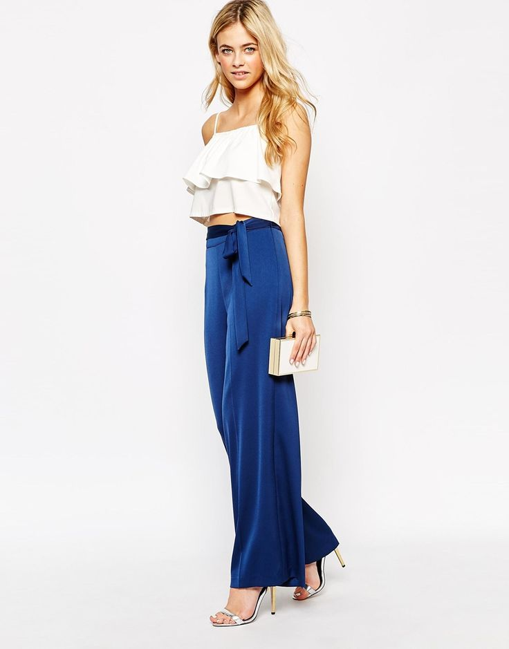Oasis+Wide+Leg+Trousers