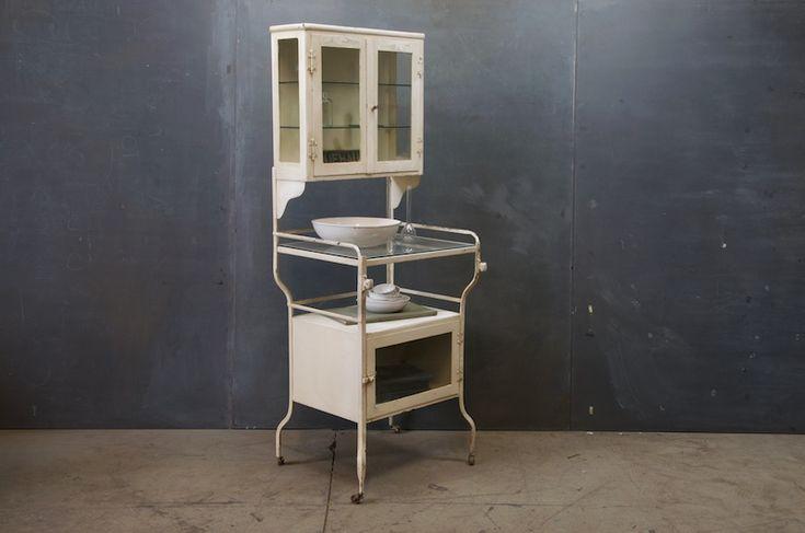 1920s Pharmacy Doctors Steel Cabinet : Factory 20   jubilerski ...