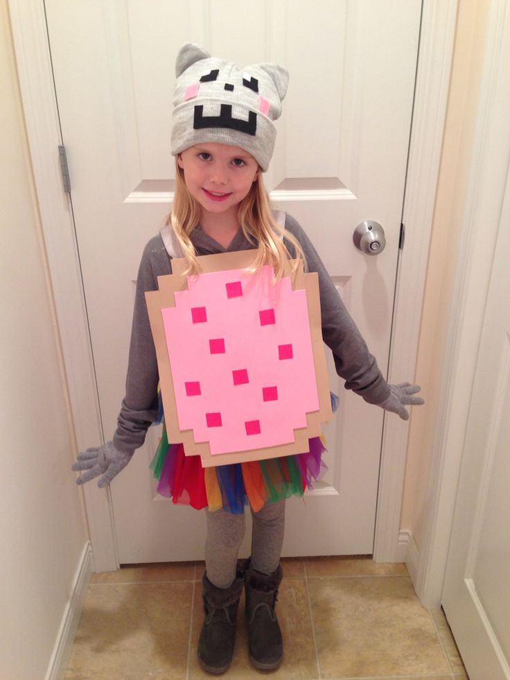 Nyan cat diy kids costume holidays pinterest kid for Children s halloween costume ideas
