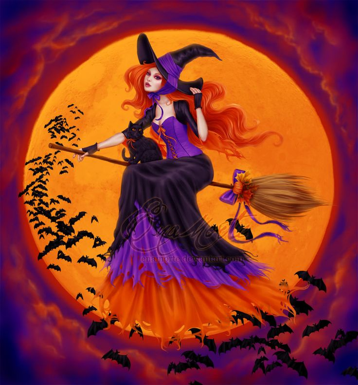 halloween and witch