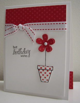 Stamping with Loll: Blooming Polka-Dots