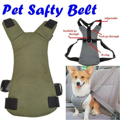 Dog Pet Safety Seat Belt Car Vehicle Harness « Pet Lovers Ads