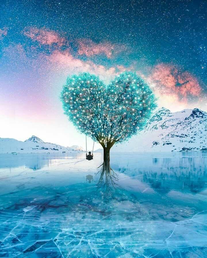 Heart Beauty Sfondo Colorato Sfondi Paesaggi