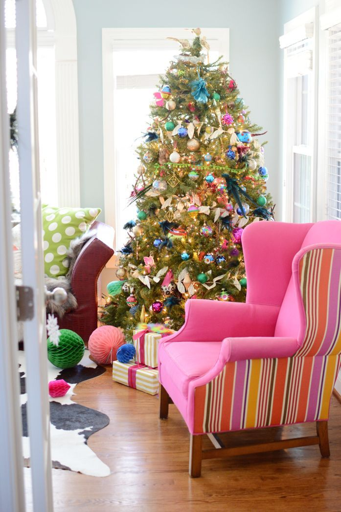 holiday touches in the sunroom christmas 2016 christmas cheer rh pinterest com