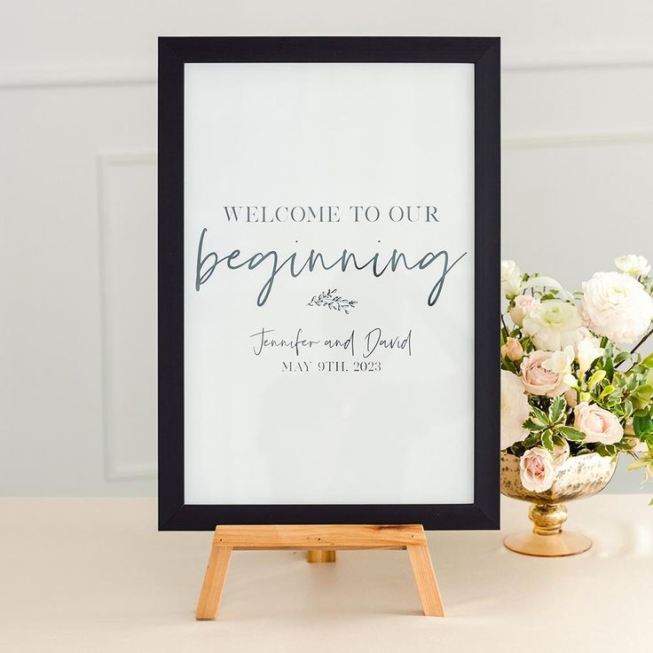 Large 12 X 18 Classic Picture Frame Black White Or Fabricated Wood Fabricated Wood In 2021 Guest Book Sign Classic Picture Frames Wedding Signage