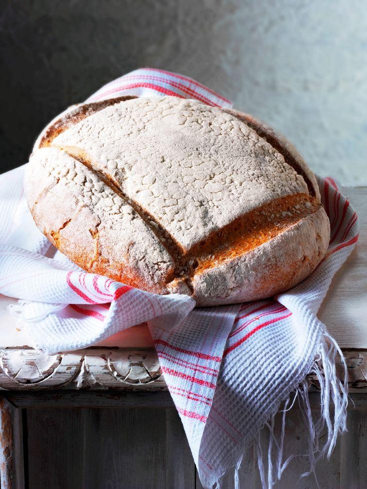 Slik baker du eltefritt brød – fremgangsmåte og oppskrifter på grytebrød, baguett, landbrød, rugbrød, bondebrød og rundstykker.