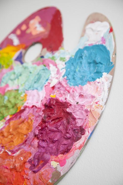 70 best images about artist paint palettes on pinterest for Manhattan tan paint color